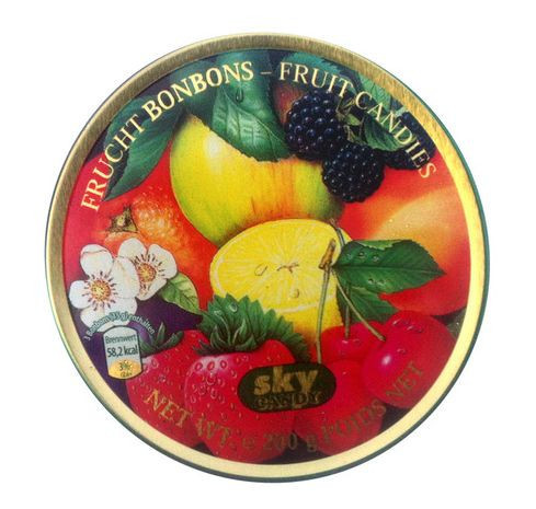 Леденцы Sky Candy Frucht Bonbons- Fruit Candies 200г