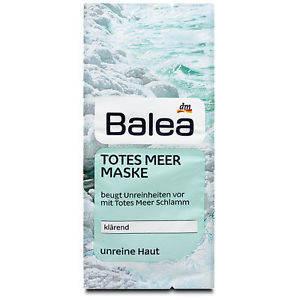 Маска для лица Balea Totes Meer Maske очищающая 2x8 мл, фото 2
