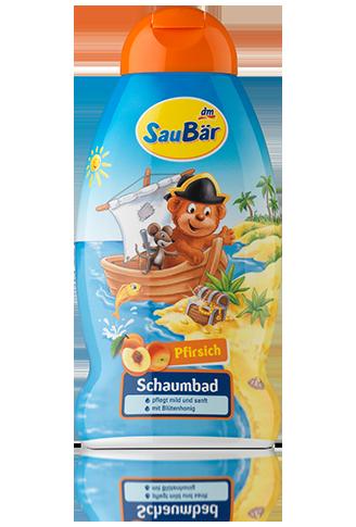 Детская пена для ванны Saubar Персик