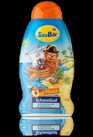 Детская пена для ванны Saubar Персик, фото 2