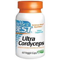 Doctors Best, Ультра кордицепс, 60 вегетарианских капсул