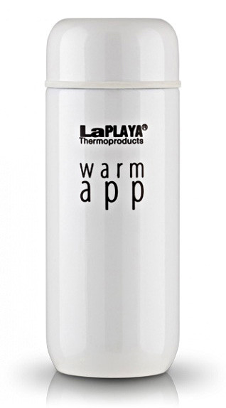 Термокружка 0,2 л, Warm App, белая