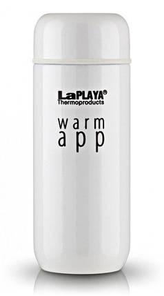 Термокружка 0,2 л, Warm App, белая, фото 2