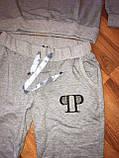 """Жіночий спортивний костюм """"PHILIP PLEIN"""" з трикотажу (Туреччина); розм 48,50,52,54; 2 кольори, фото 5"""