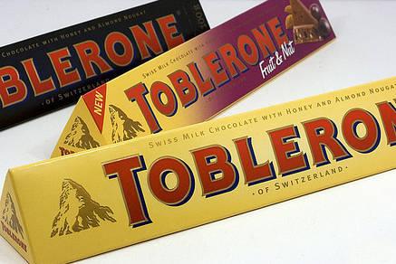 Шоколад Toblerone горький с медом, миндалем и нугой 100 г, фото 2