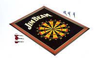 Мишень для игры в дартс магнитная JIM BEAM BL-1050 Baili (р-р 58x75см, в комплекте 6 дротиков)