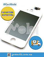 Дисплейный Модуль Iphone 4S white (Orig IC) дисплей + сенсор (touchscreen)