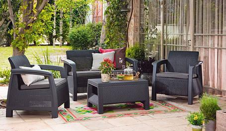 Комплект садовой мебели Bahamas, серый, фото 2