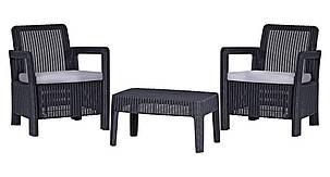 Комплект садовой мебели Tarifa Balcony, серый, фото 2