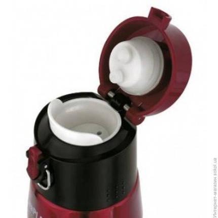 Термофляга 0,5 л, BubbleSafe, красная, фото 2