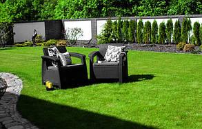 Кресло пластиковое Corfu Duo, серое, фото 3
