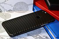 """Виниловая наклейка """"Чёрный карбон"""" Iphone 6 / 6S (0,12 mm)"""