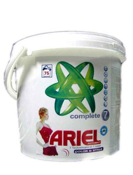 Порошок для стирки Ariel color & style 5,045kg (ведро)