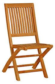 Тиковый стул раскладной TE-05T