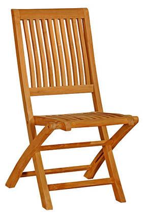 Тиковый стул раскладной TE-05T, фото 2