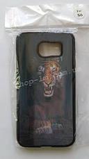 Чехол-накладка 3D для Samsung G920 Galaxy s6 (Хищник), фото 3