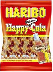 Жевательные конфеты Haribo Happy Cola 200г