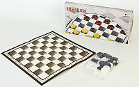 Шашки настольная игра 4817 (доска-картон, фигуры-пластик, р-р доски 40см x 40см)