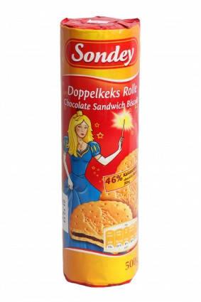 Печенье Sonday Doppelkes Rolle 500г, фото 2