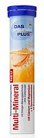 Витамины-шипучки Das Gesunde Plus Multi-Mineral Мульти-Минерал 20 таблеток 82 г