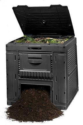 Компостер садовый E-Composter  470 л, фото 2