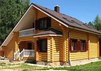 Дома и бани из оцилиндрованного бревна. Работаем по Украине и на экспорт.