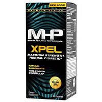 Maximum Human Performance, LLC, Xpel, сильнодействующее мочегонное средство, 80 капсул