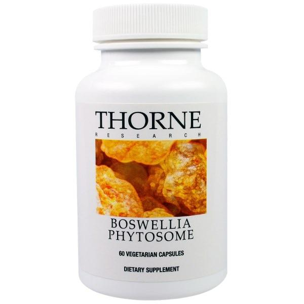 Thorne Research, Фитосома босвеллии, 60 вегетарианских капсул
