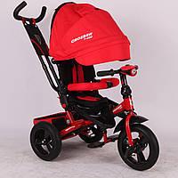 Кроссер Тринити Т400 Фара велосипед трехколесный Сrosser Triniti детский надувные колеса