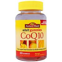 Nature Made, Жевательные витамины для взрослых, Коензим Q10 со вкусом манго, 60 жевательных таблеток
