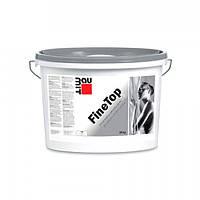 Baumit FineTop (GK 1 mm) - силиконовая мелкозернистая штукатурка, зернистость 1 мм, 30кг