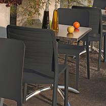 Стул пластиковый Charlotte Deco Chair, серый, фото 2