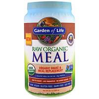 Garden of Life, RAW Meal, натуральный заменитель пищи или закуски, со вкусом ванильного чая, 32.1 унция (909 граммов)