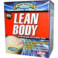 Labrada Nutrition, Стройное тело, коктейль-замена еды с высоким содержанием белка, вкус ванильного мороженого, 20 пакетиков, по 2,78 унции (79 г)