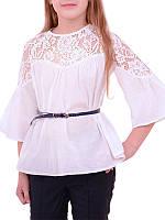 Стильная блузка Лора для девочки (рост 122-134)