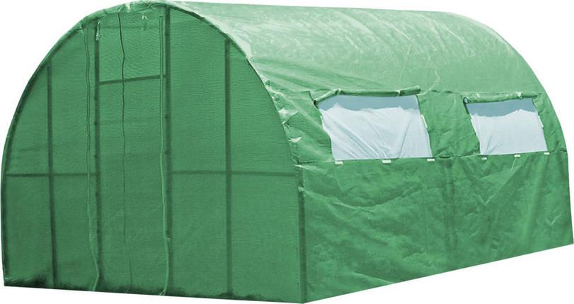 Каркасная теплица 4 м под пленку или полиматериал, каркасная, Greenhouse, фото 2