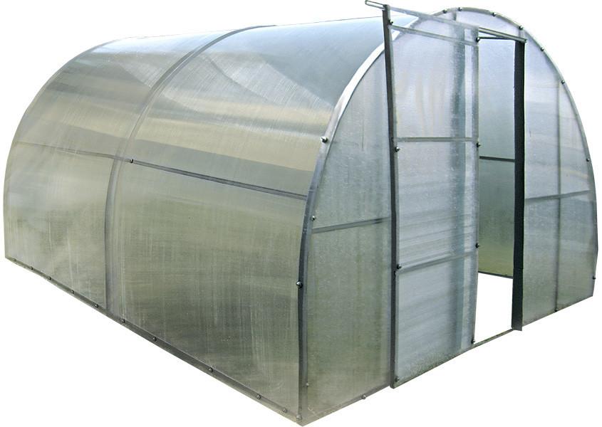Каркасная теплица 4 м под поликарбонат,  каркасная, Greenhouse