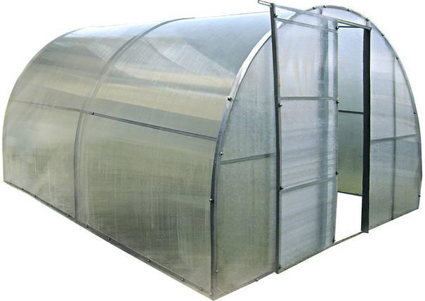 Каркасная теплица 4 м под поликарбонат,  каркасная, Greenhouse, фото 2