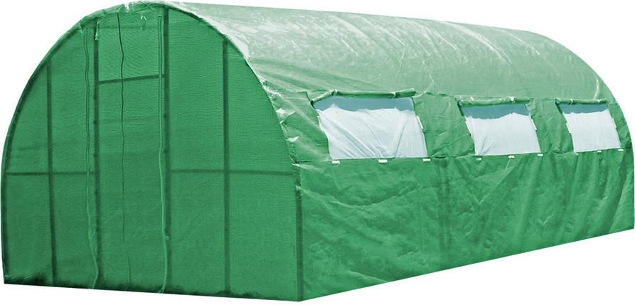 Каркасная теплица 6 м под пленку или полиматериал, каркасная, Greenhouse, фото 2