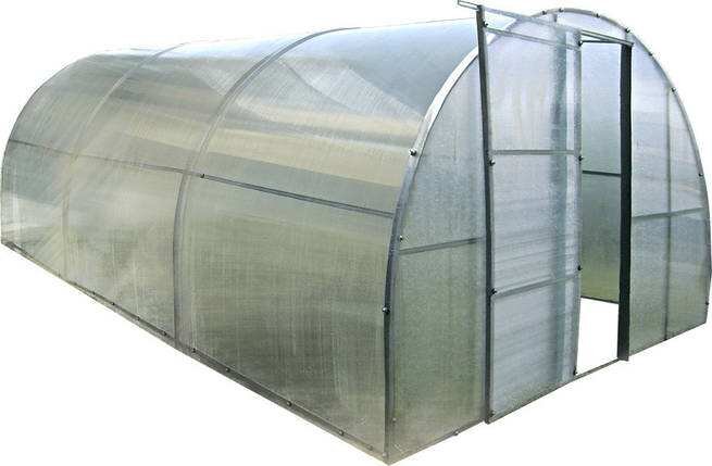 Каркасная теплица 6 м под поликарбонат, каркасная, Greenhouse, фото 2