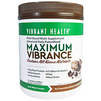 Vibrant Health, Диетическая добавка Максимальное Насыщение, Версия 2.0, с кусочками шоколада, 25.56 унций (724,5 г)