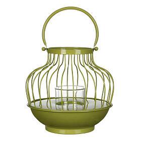 Декор для сада Фонарик, зеленый