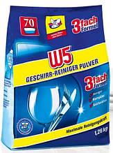 W5 Geschirr Reiniger Pulver порошок для посудомоечных машин 1260 г