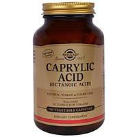 Solgar, Каприловая кислота, 100 vegetable capsules