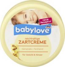 Крем для догляду за сухою шкірою дитини Babylove 150 мл