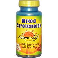 Natures Life, Смесь каротиноидов, 100 гелевых капсул