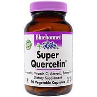 Bluebonnet Nutrition, Супер-кверцетин, 90 капсул в растительной оболочке