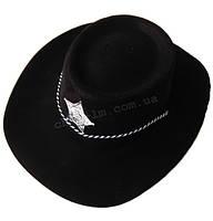 Шляпа Ширифа (черная)