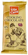 Шоколад Fin Carre кондитерский черный 200г