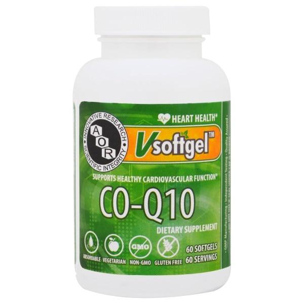 Advanced Orthomolecular Research AOR, Co-Q10, 60 Softgels